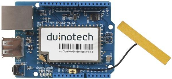 Arduino compatible yun wi fi shield