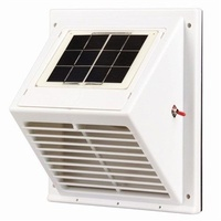 Solar Powered Vent Extractor Roof Or Wall Mounting Exhaust