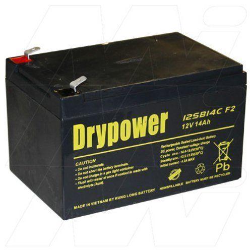 drypower 12v 14ah sealed lead acid battery. Black Bedroom Furniture Sets. Home Design Ideas