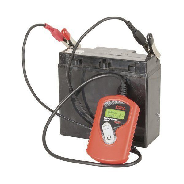 Lead Acid Battery Tester : Lcd display battery tester vdc tests lead acid