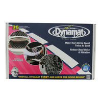 DYNAMAT XTREME Bulk Pack Peel & Stick Sound Deadening Car Audio Subwoofer Kit