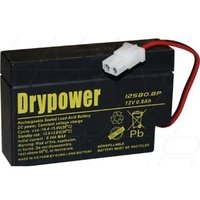 Drypower 12V 0.8Ah Sealed Lead Acid Battery