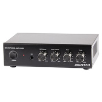 DIGITECH 25 Watt RMS Compact Stereo Amplifier It is ideal for home office or a small workshop