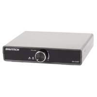 DIGITECH 2 x 15 Watt RMS Portable Stereo Amplifier it ideal for street performers or home office