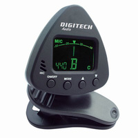 DIGITECH Clip-on Tuner with Mic accurate that are suitable for any instrument