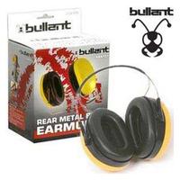 Bullant Passive Earmuffs Rear Metal Band Light Weight Weather Resistant