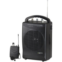 DIGITECH Portable Wireless PA Amplifier & Microphone compact yet powerful amplifier