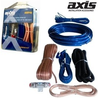 AXIS 4ga high power amplifier kit 4 Gauge Kit - Suits Amplifiers up to 1000 Watts
