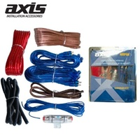 AXIS  8ga high power amplifier kit 8 Gauge Kit - Suits Amplifiers up to 400 Watts