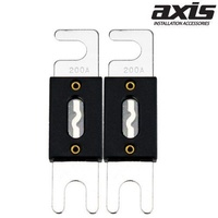 AXIS 200Amp ANL Hi-Current Fuse Pack of 2 ANL Fuse Suits Extreme Current Flow Situations
