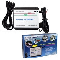 Battery Fighter 24V 3A output microprocessor controlled battery charger