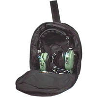Black Carry Case to suit Aviation Headset