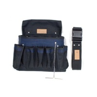 CABAC Tradesman's 19 Pocket Tool Pouch lightweight tool pouch can be worn anywhere hands-free CP4