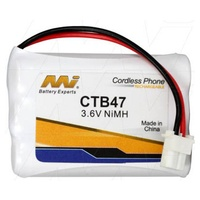 Cordless Telephone Battery for Uniden BT-750/3.6v /Nimh CTB47