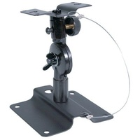 Steel Speaker Bracket sturdy bracket has main axis angle adjustment by a diecast