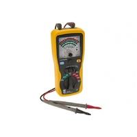 Insulation resistance tester analogue display lightweight