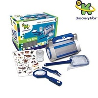 Discovery Kids Bug Barn with magnifying glass tweezers canister net