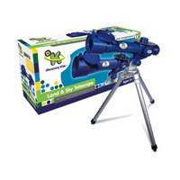Discovery Kids Land & Sky 30X Telescope with tabletop tripod