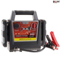 DOSS 12V 10Amp Power station 300A Jumpstarter with 260PSi Air Compressor