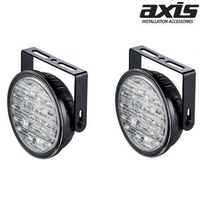 AXIS 90MM Diameter 18 Piranha LED Daytime Running Lights Pair