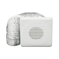 HELLER 100mm Aluminium Ducting Kit