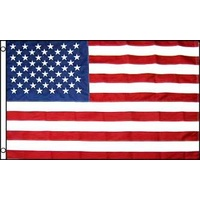 USA Embroided Nylon Flag 4x6ft