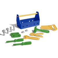 Green Toys- Tool Set Blue /Safe- non-toxic- BPA-free / 15 piece set