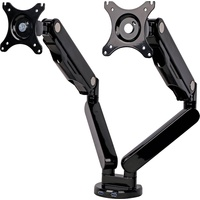 100mm Dual VESA Desk Mount LCD Bracket with USB