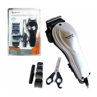 Professional Electronic Hair Clipper Set with Scissors  Comb