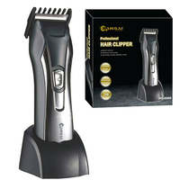 Rechargeable Cordless Beard  Hair Clipper Comb Scissors