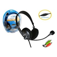 Computer Stereo Headset & Microphone with Volume control