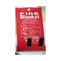 Fire Blanket 1X1 M  1M X 1M Fire Blanket  An essential safety item for Homes, Caravans and Boats NEW