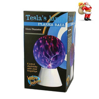 Heebiejeebies Plasma Ball Tesla's Lamp Learn plasma with this amazing lamp
