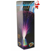 Heebiejeebies Wheeler's Optic Fibre Lamp 34cm diameter bring vibrant colours