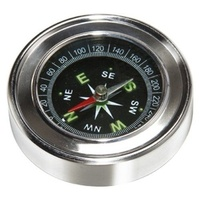 Compass Stainless Steel Pocket Size 4.5cm Glow in Dark Dial