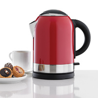 HELLER 1.7L Cordless Bullet Kettle Red