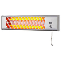 heller 1200W Wall Mounted Bathroom Strip Heater With Pull Cord