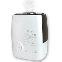 SANSAI Ultrasonic Cool Mist Room Air Humidifier  Suits For Home Office Shop