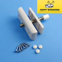 Happywanderer Waterproof Thru Van Wall Internal-External TV Cable Connector for Caravan