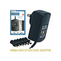 Mulit-Voltage Power Adapter 1000mA 3-12v 1A