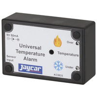 Universal Temperature Alarm Kit Monitor the operating temperature