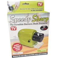 Speedy Sharp Swifty Electric Kitchen Knife Sharpener Knives Motorised Blade Tool New KU0089