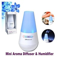 Ultrasonic Mini Aroma Diffuser Humidifier & Air Purifier