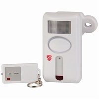 Motion Activated Alarm with Remote Control