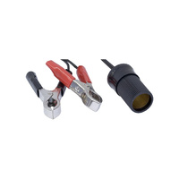 Cigarette Lighter With Battery Clips (SC8750)