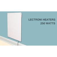 Cozy Convection Wall Mounted Heater 250Watts New Quality Product by Lectroni