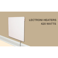 Cozy Convection Wall Mounted Heater 420Watts New Quality Product by Lectroni