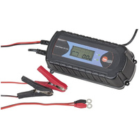9 State Charger 12V-7.2A/24V-3.6A for cars, boats, motorcycles