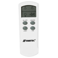 Martec Premium Bathroom Heater Exhaust & Light LCD Remote Control Kit