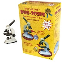 Duo Scope Microscope Collection Perfect fro high school Level Science
